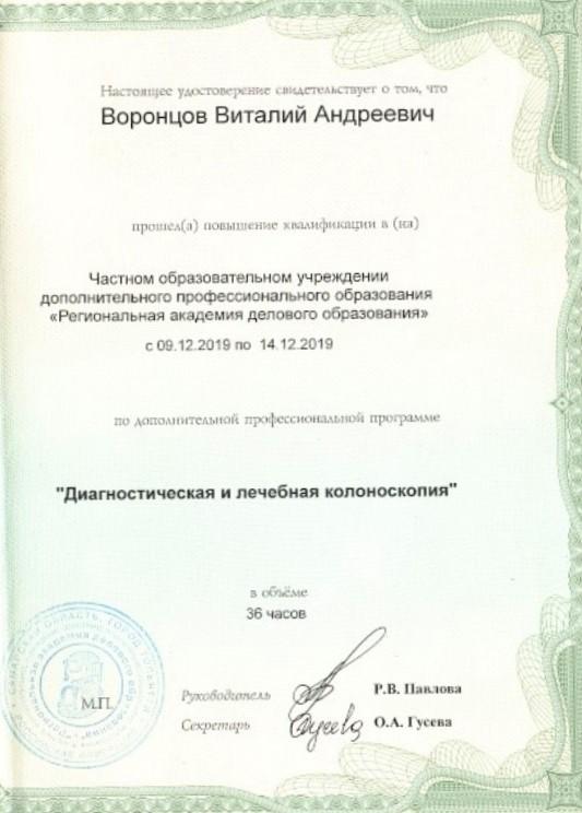 Воронцов В. А.